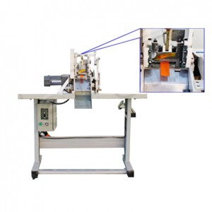 Nonwoven bag handle cutting machine